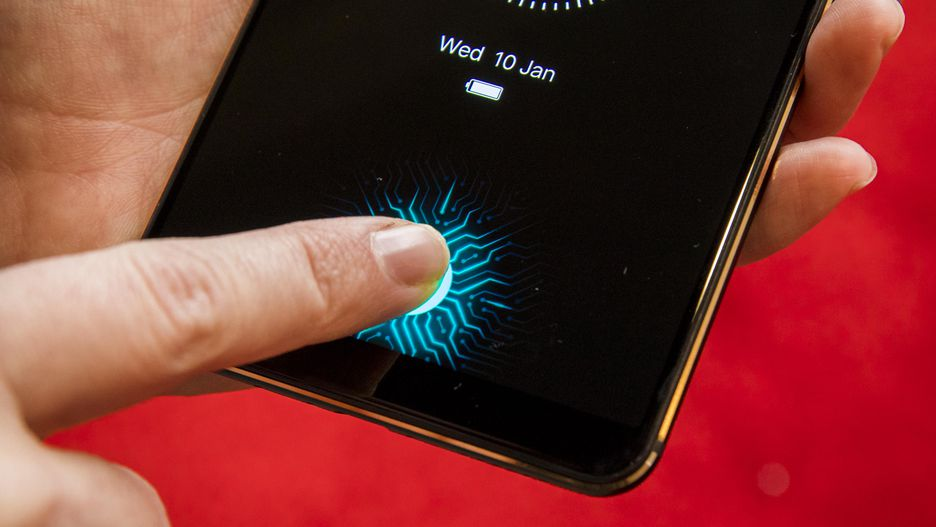 Vivo in-screen fingerprint scanner 6