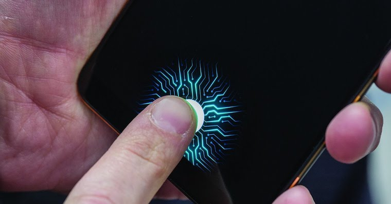 Vivo in-screen fingerprint scanner FB