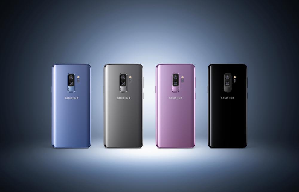 Galaxy S9+ 4colors