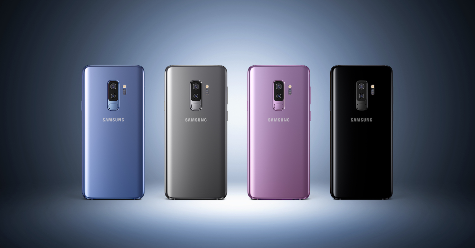 Galaxy S9 all colors FB