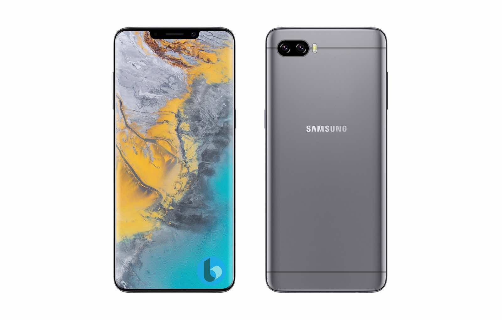 Samsung Galaxy S10 like iPhone X Geskin concept 1