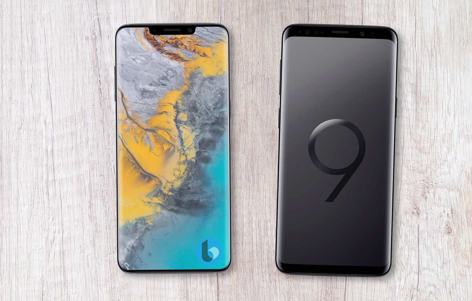 Samsung Galaxy S10 like iPhone X Geskin concept 4