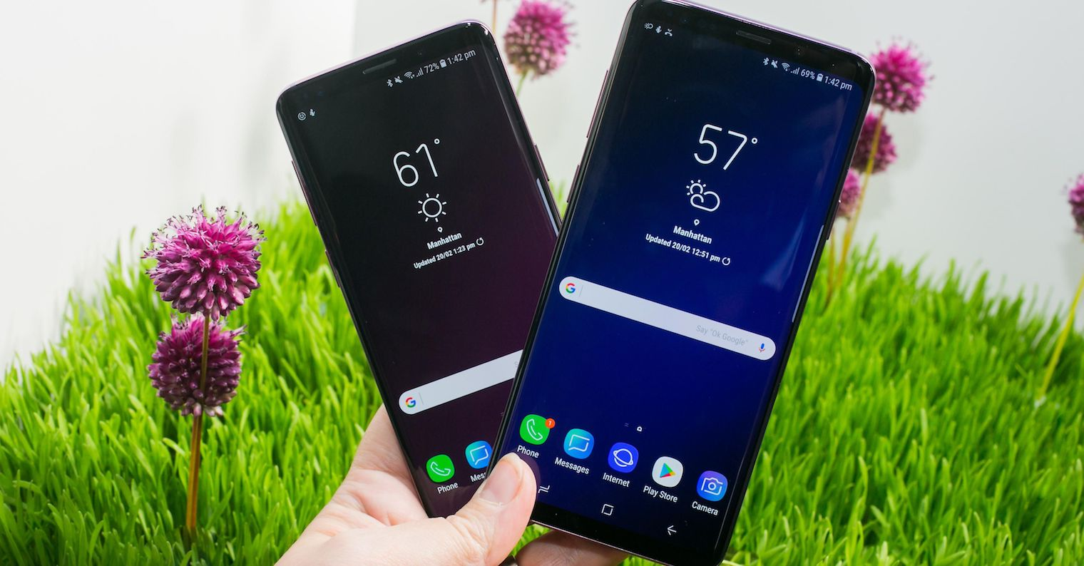 Samsung Galaxy S9 FB