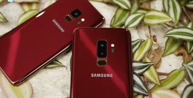 Galaxy S9 Burgundy Red FB