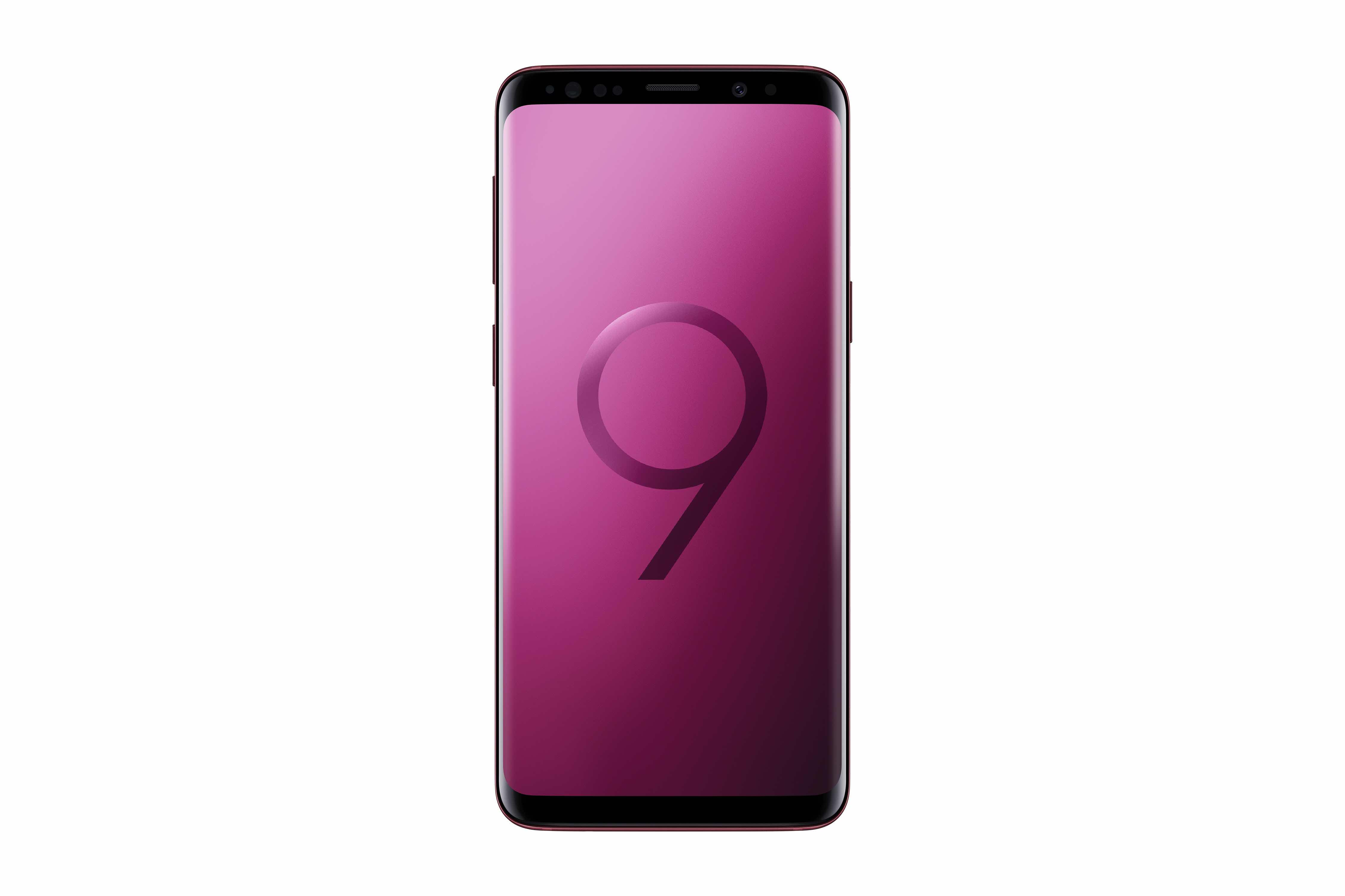 Galaxy S9 Plus Burgundy Red 4