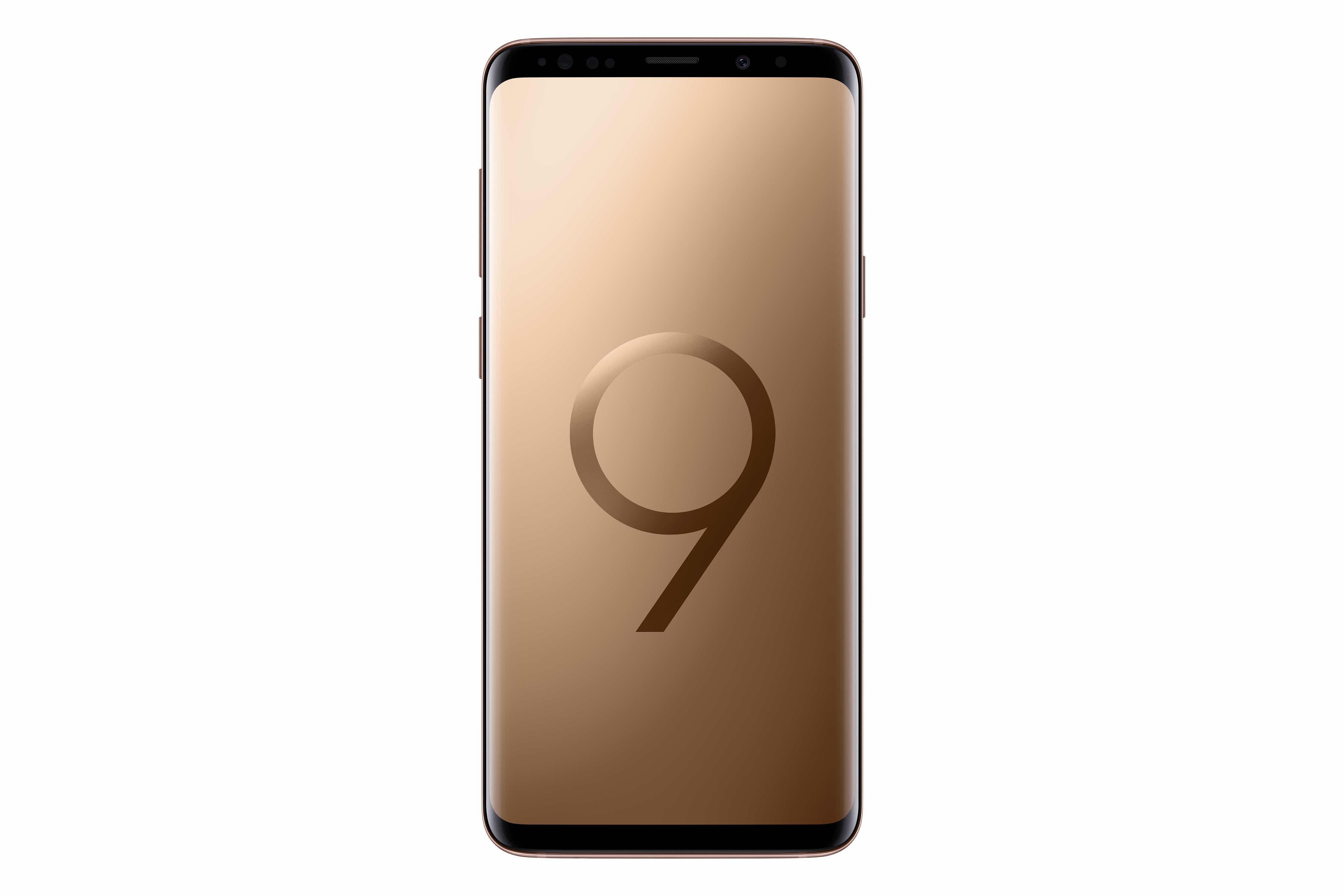 Galaxy S9 Plus Sunrise Gold 3