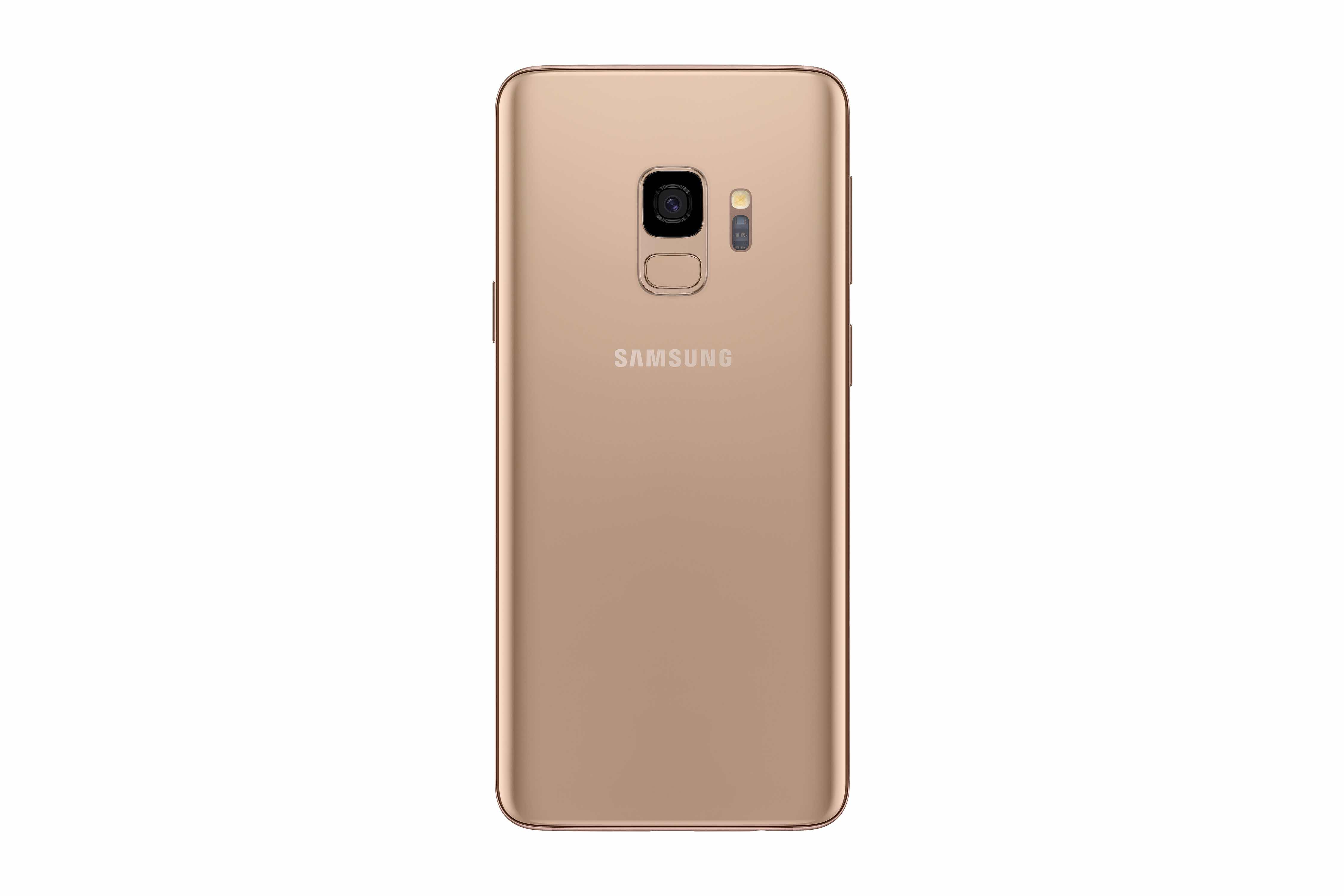 Galaxy S9 Plus Sunrise Gold 4