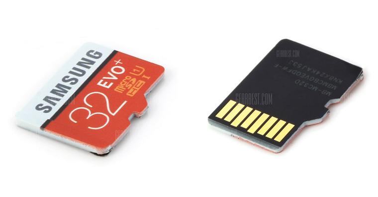 Samsung 32GB microSD card