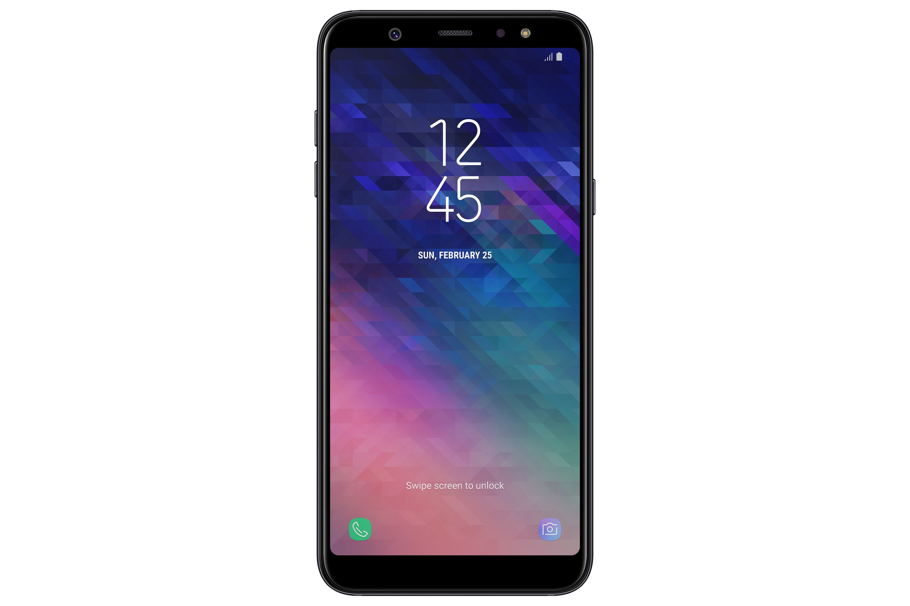 Samsung Galaxy A6 Plus black 1