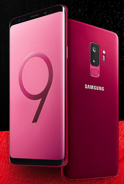 galaxy s9 red 1