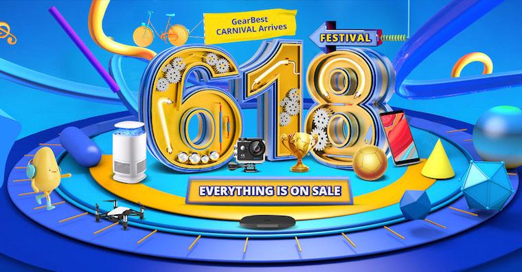 618 Carnival Gearbest