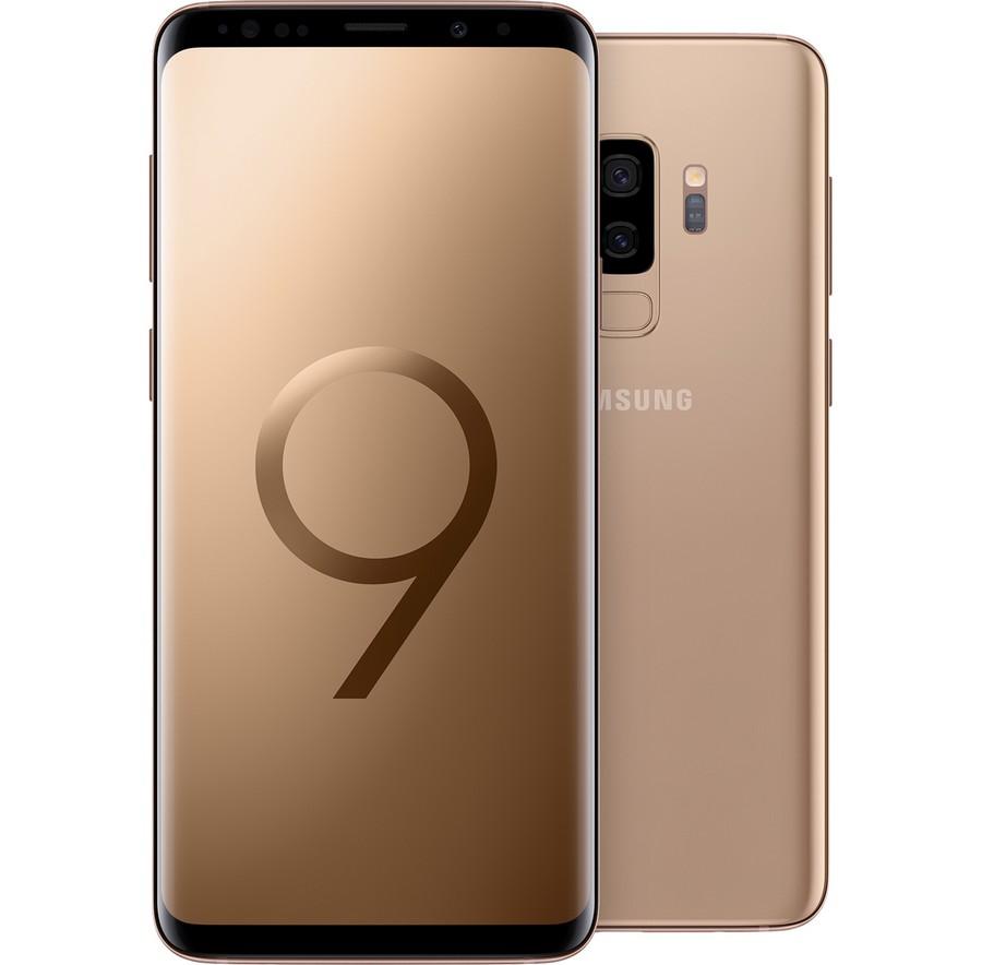 Galaxy S9 Plus Sunrise Gold 9
