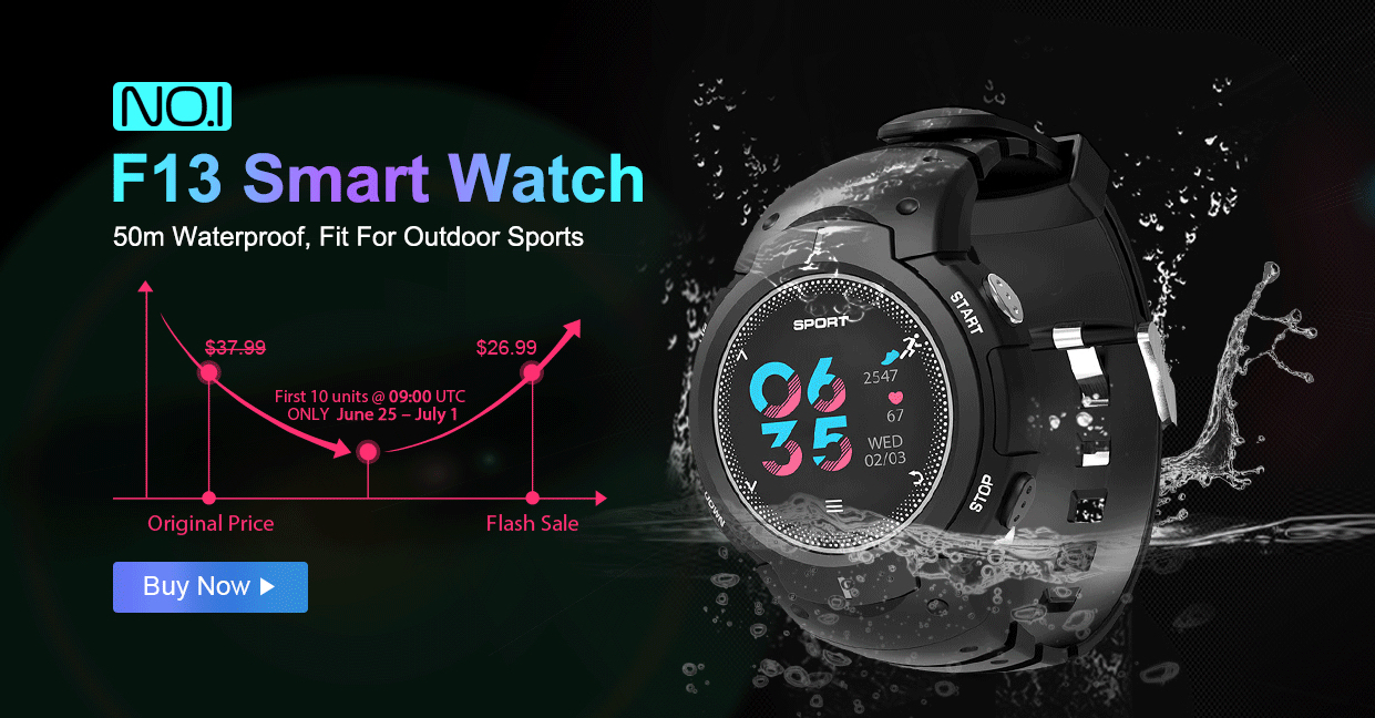 NO.1 F13 smart watch FB