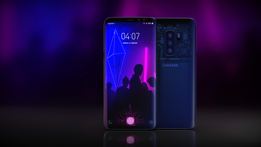 Samsung Galaxy S10 concept 10