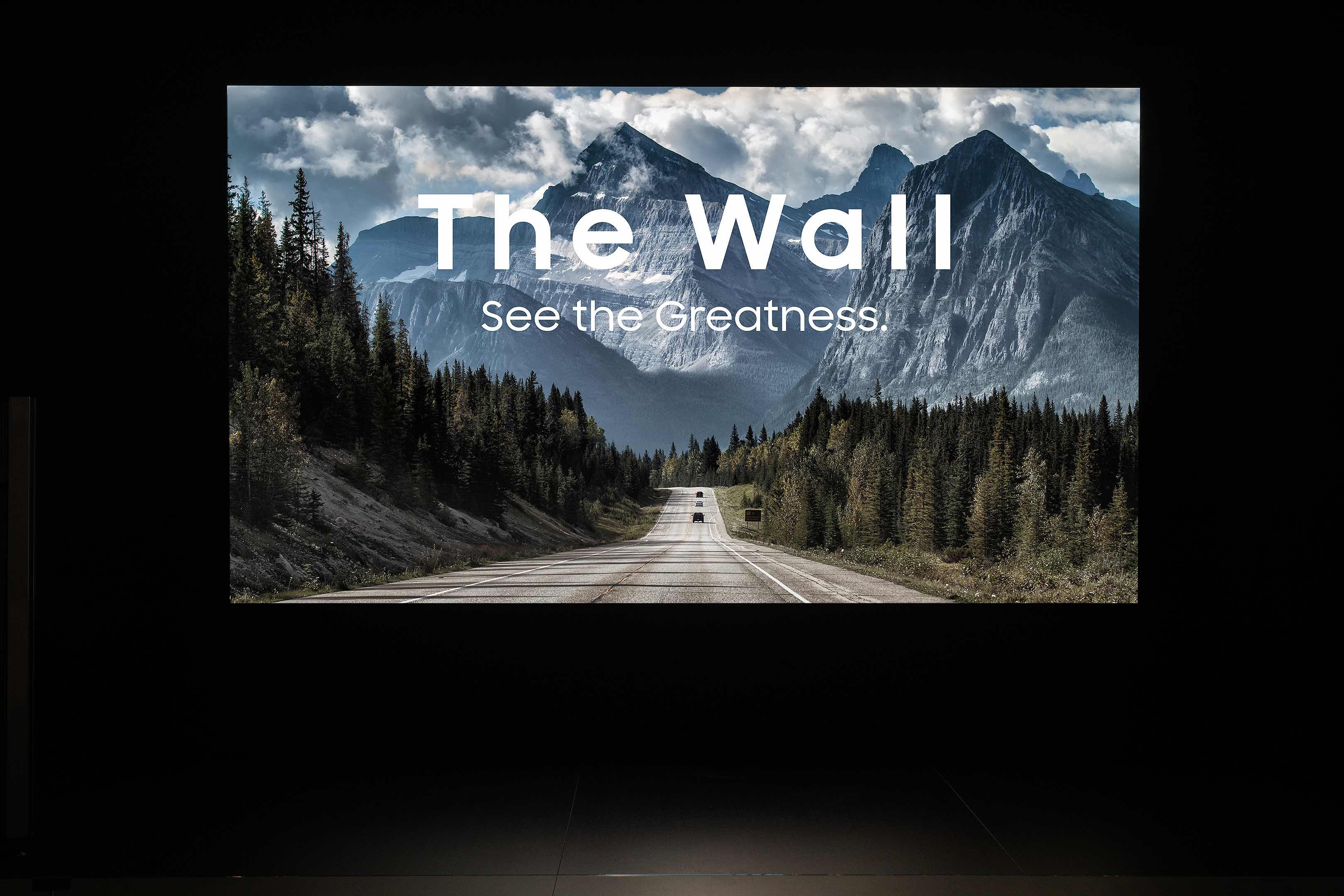 Samsung The Wall Professional 2