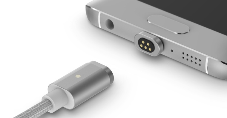 Magnetic microUSB cable FB