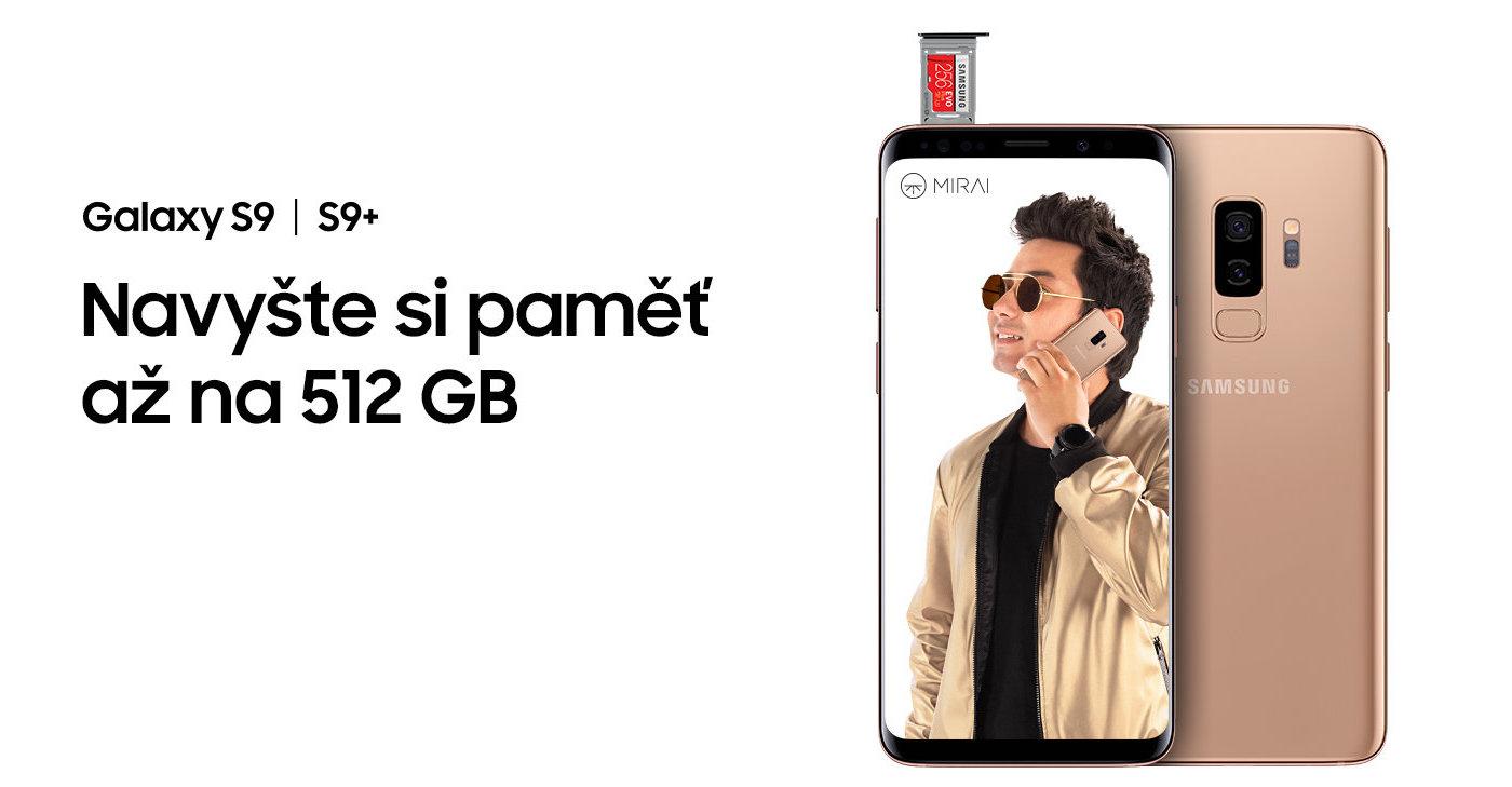 Samsung akce Galaxy S9