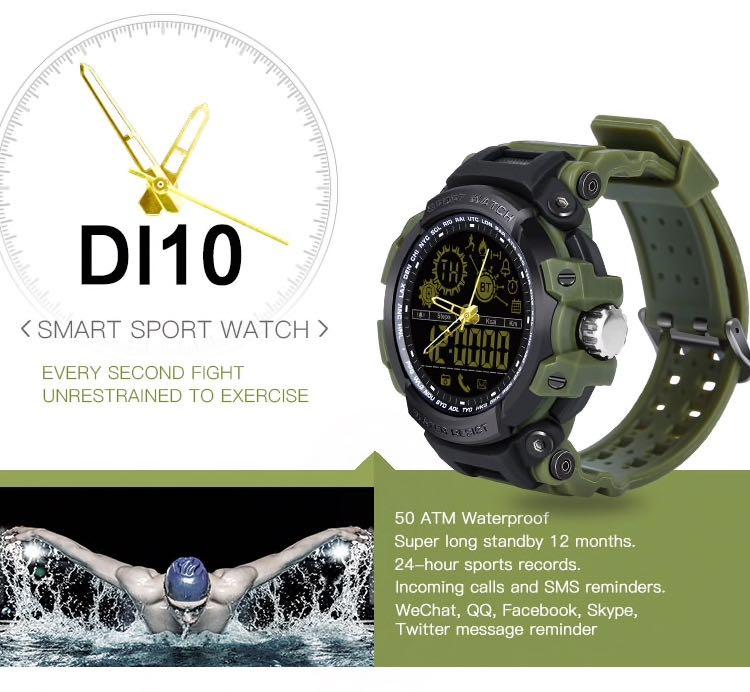 Diggro DI10 chytre hodinky 8