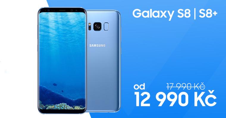 Samsung Galay S8 sleva 5000 kc
