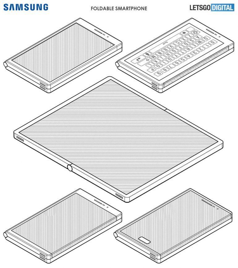 Samsung-foldable-phone-design-patents