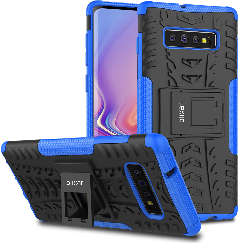 Olixar-ArmourDillo-Samsung-Galaxy-S10-Protective-Case—Blue