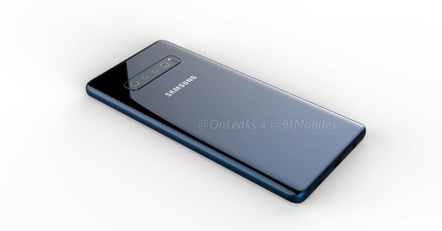 Samsung-Galaxy-S10 render FB