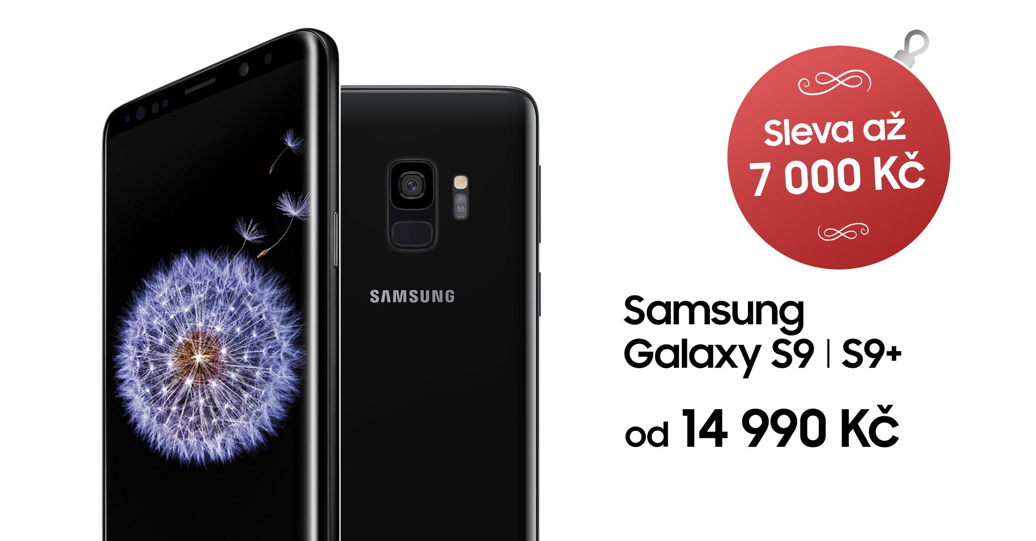Samsung Galaxy S9 sleva 7000 kc
