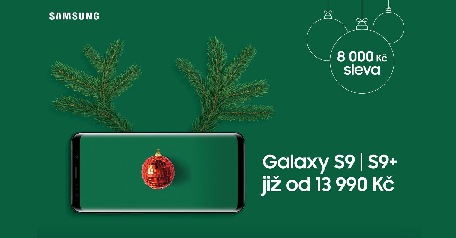 Samsung Galaxy S9 sleva