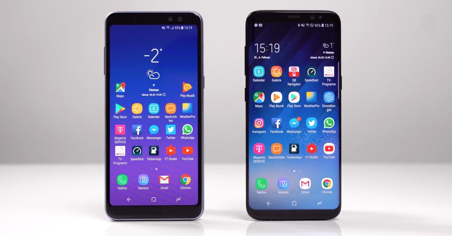 Galaxy A8 2018 Galaxy S8 FB