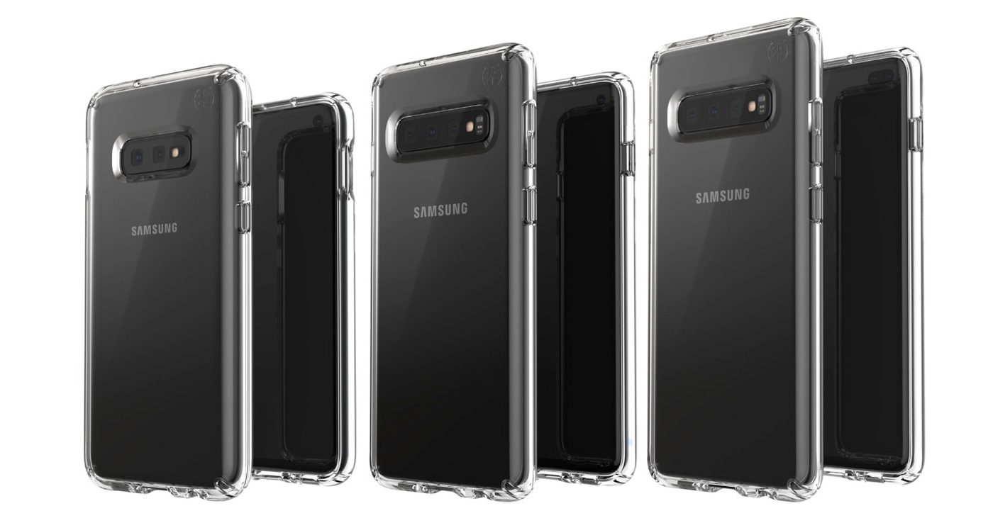 Samsung Galaxy S10e S10 Plus S10 render