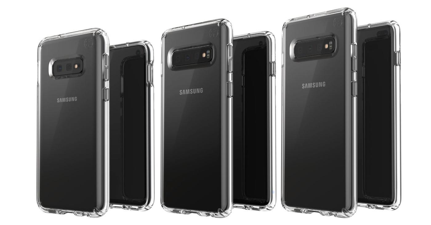 Samsung Galaxy S10e S10 Plus S10 render
