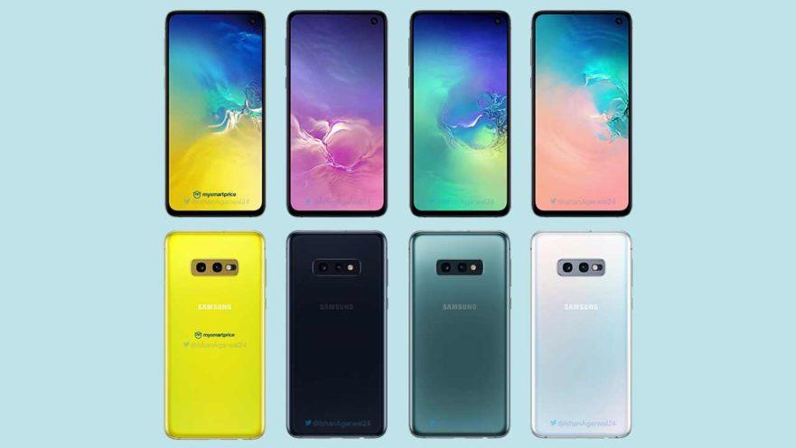 Galaxy s10 barvy