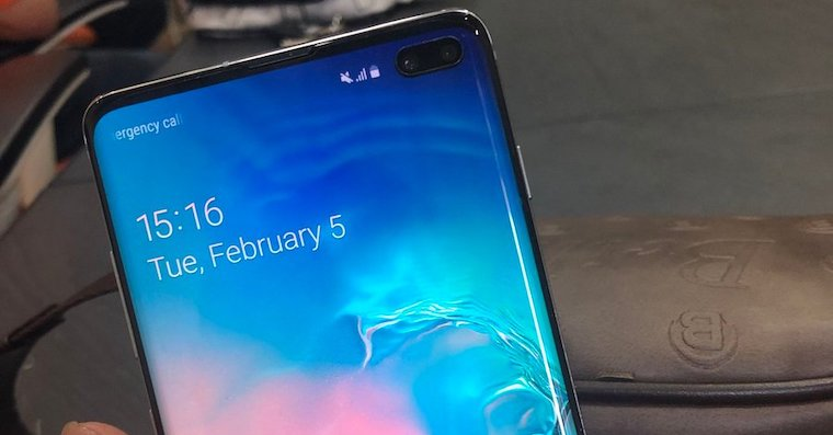 Galaxy-s10 fingerprint leak