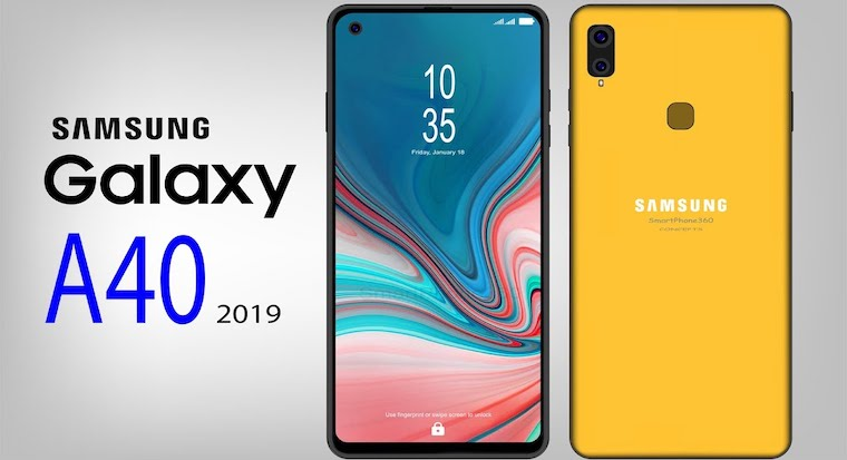 Samsung Galaxy A40 Concept YouTube fb