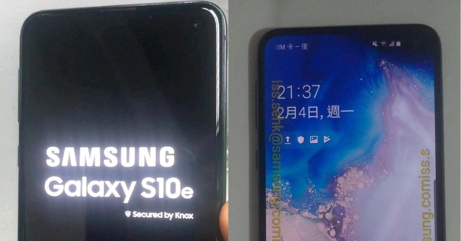 Samsung Galaxy-S10e-leak