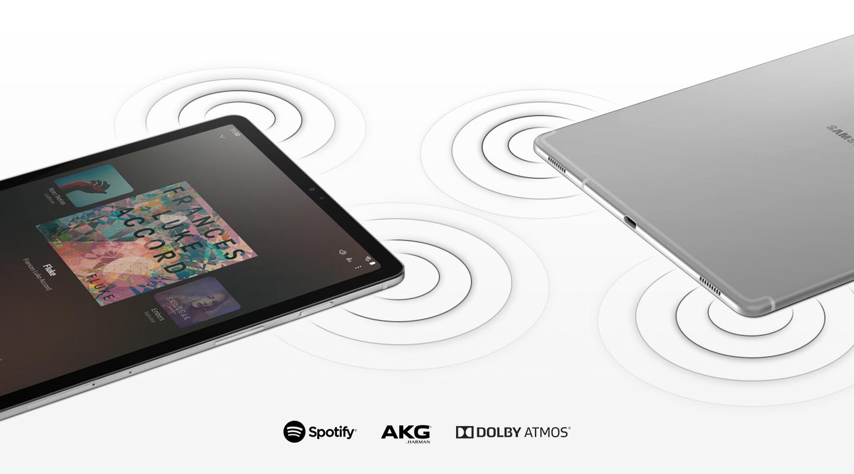 Samsung Galaxy Tab S5e sound