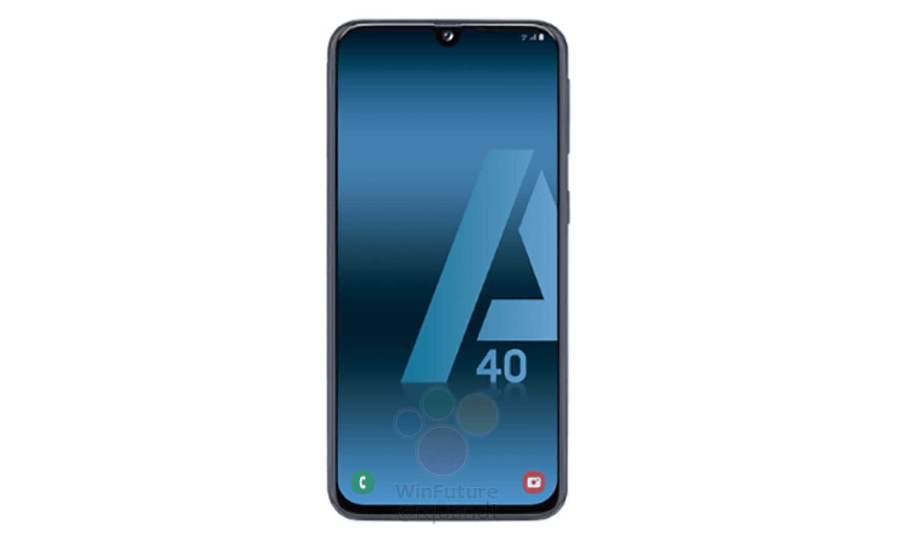 Samsung Galaxy A40 Render fb