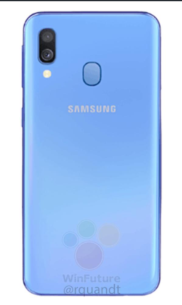 Samsung Galaxy A40 render 1