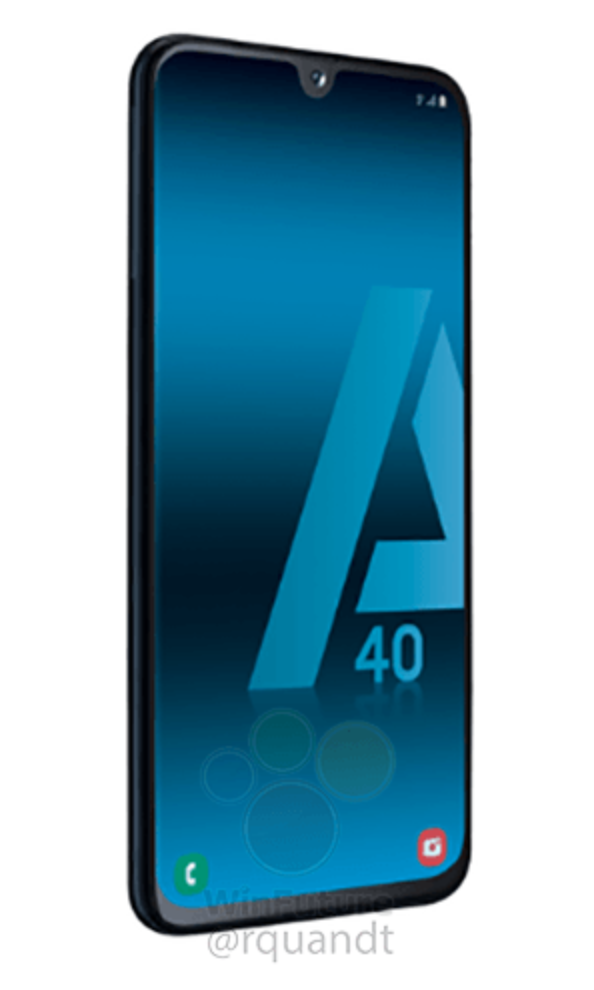 Samsung Galaxy A40 render 8