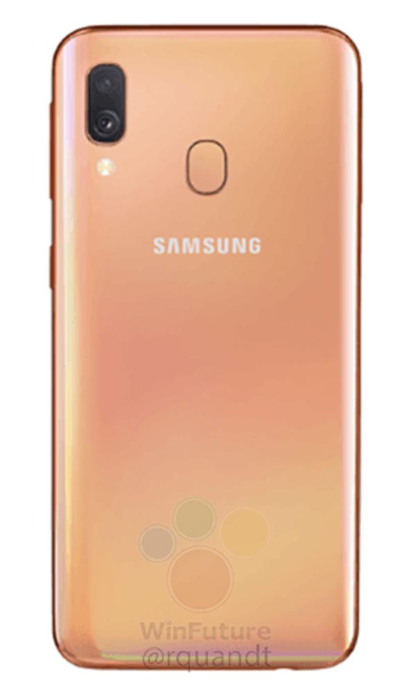 Samsung Galaxy A40 render 9