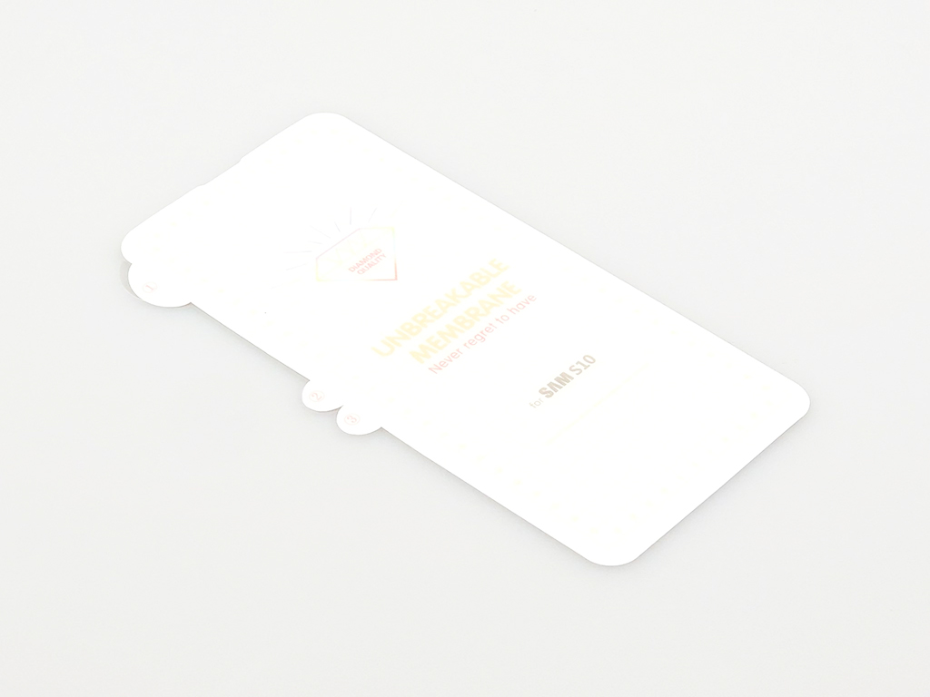 3D ochranná fólie pro Samsung Galaxy S10