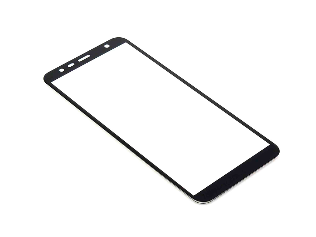 3D Tvrzené sklo PREMIUM – Samsung Galaxy J4 Plus, J6 Plus – Černé