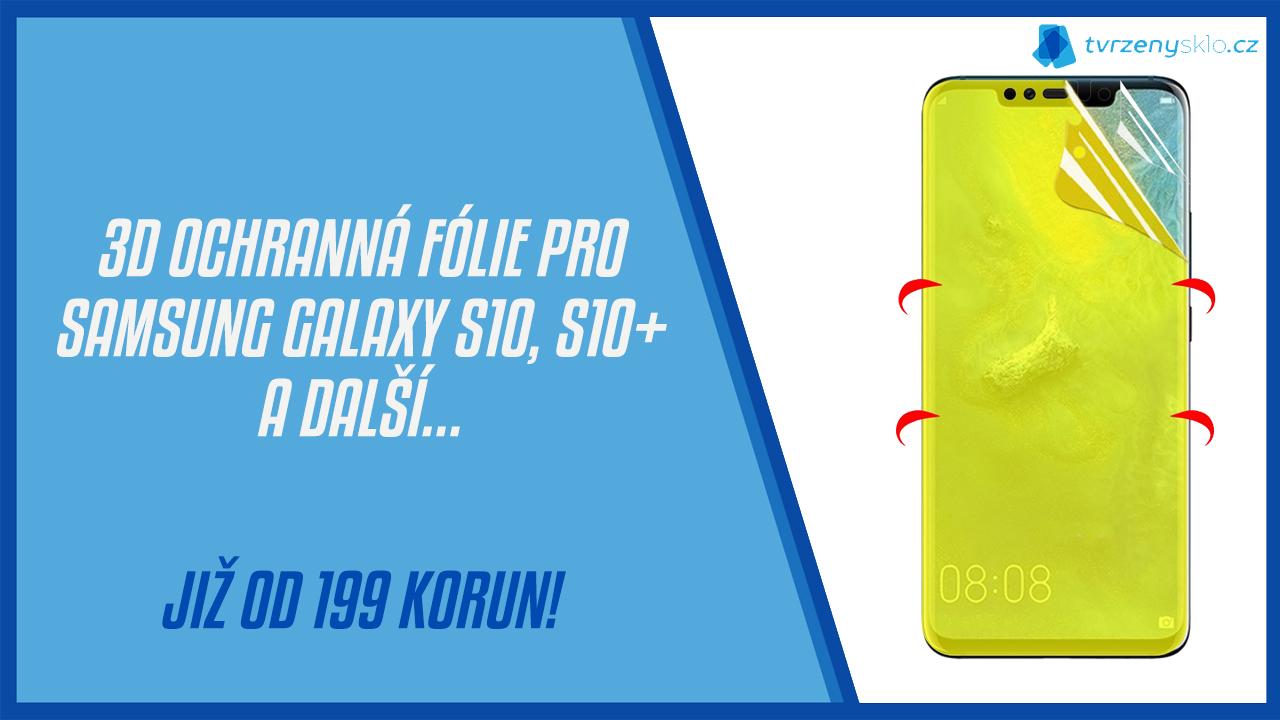 3D ochranná fólie pro Samsung Galaxy