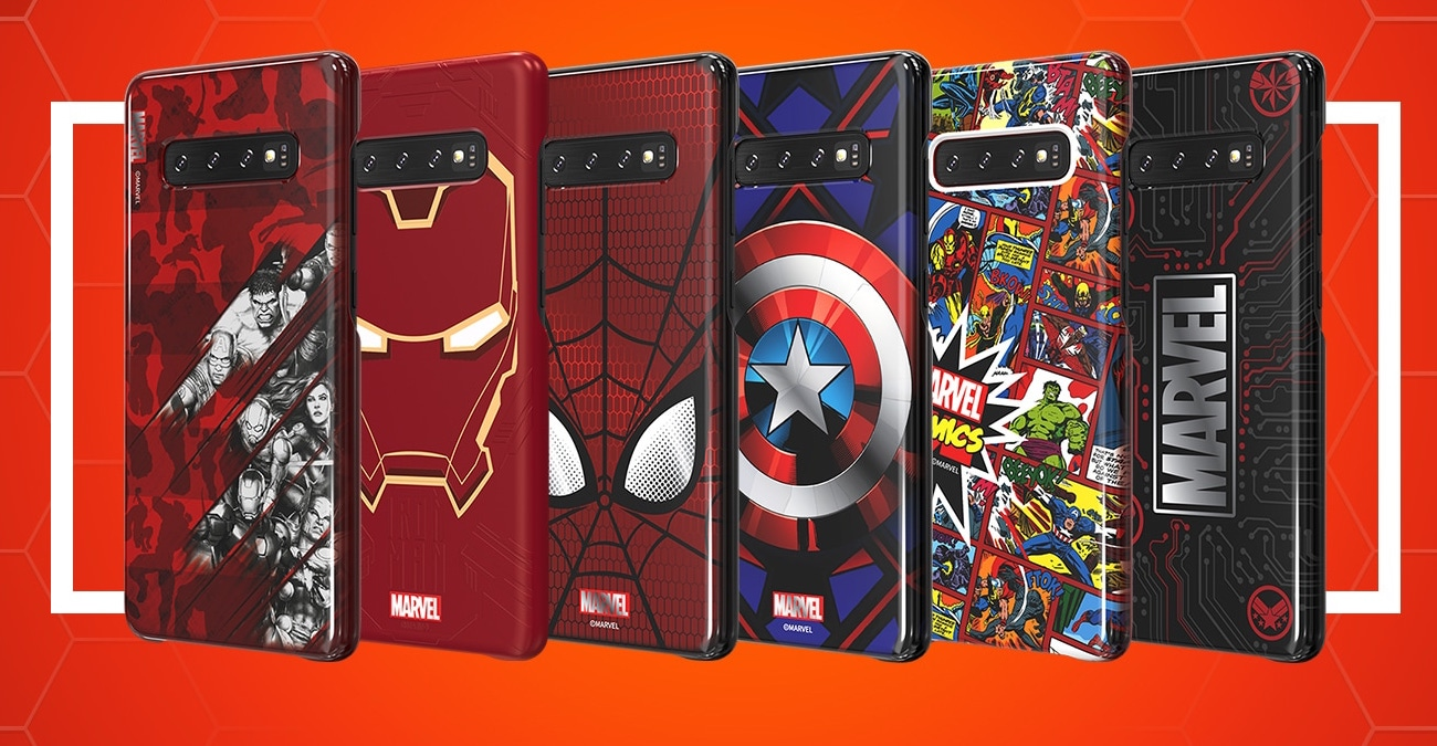 Samsung Galaxy S10 Marvel obaly FB