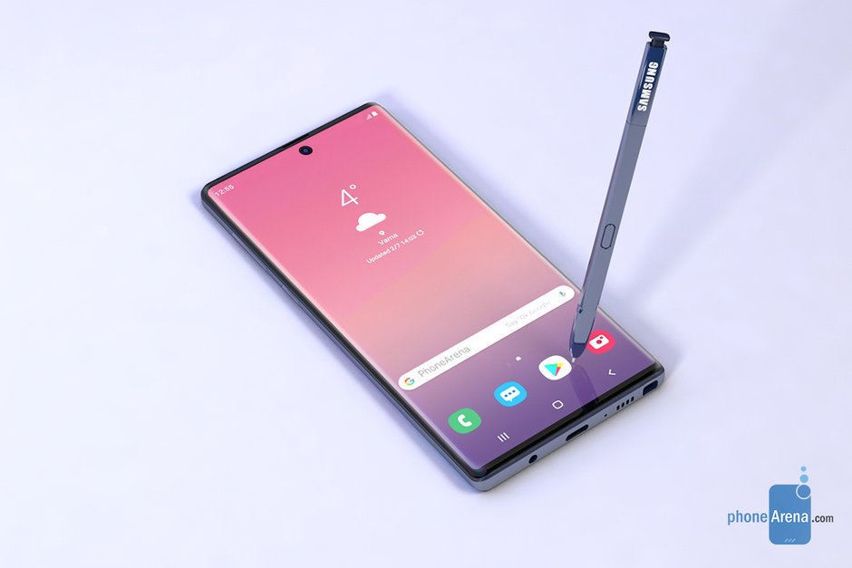 Samsung-Galaxy-Note-10-may-go-back-to-a-more-curved-display-and-have-a-centered-selfie-camera-1