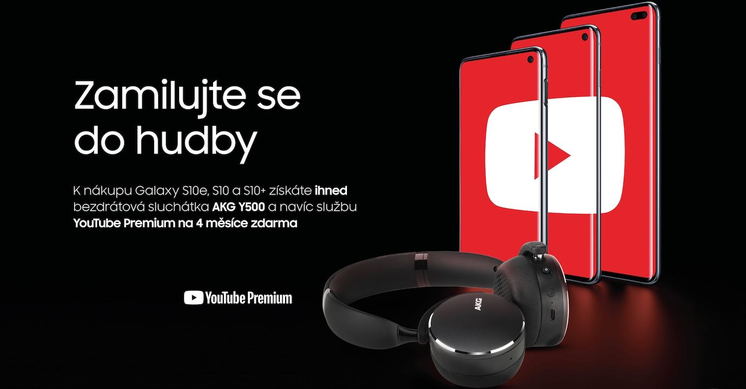 Samsung Galaxy S10 AKG Y500 zdarma