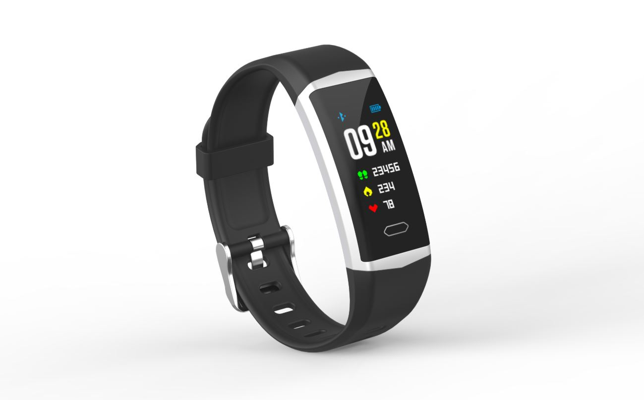 EVOLVEO_FitBand_B5_front_side_view_right