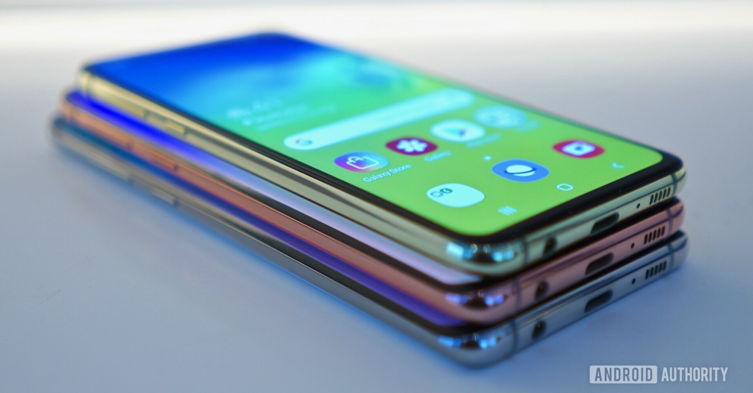 Samsung Galaxy S10 family