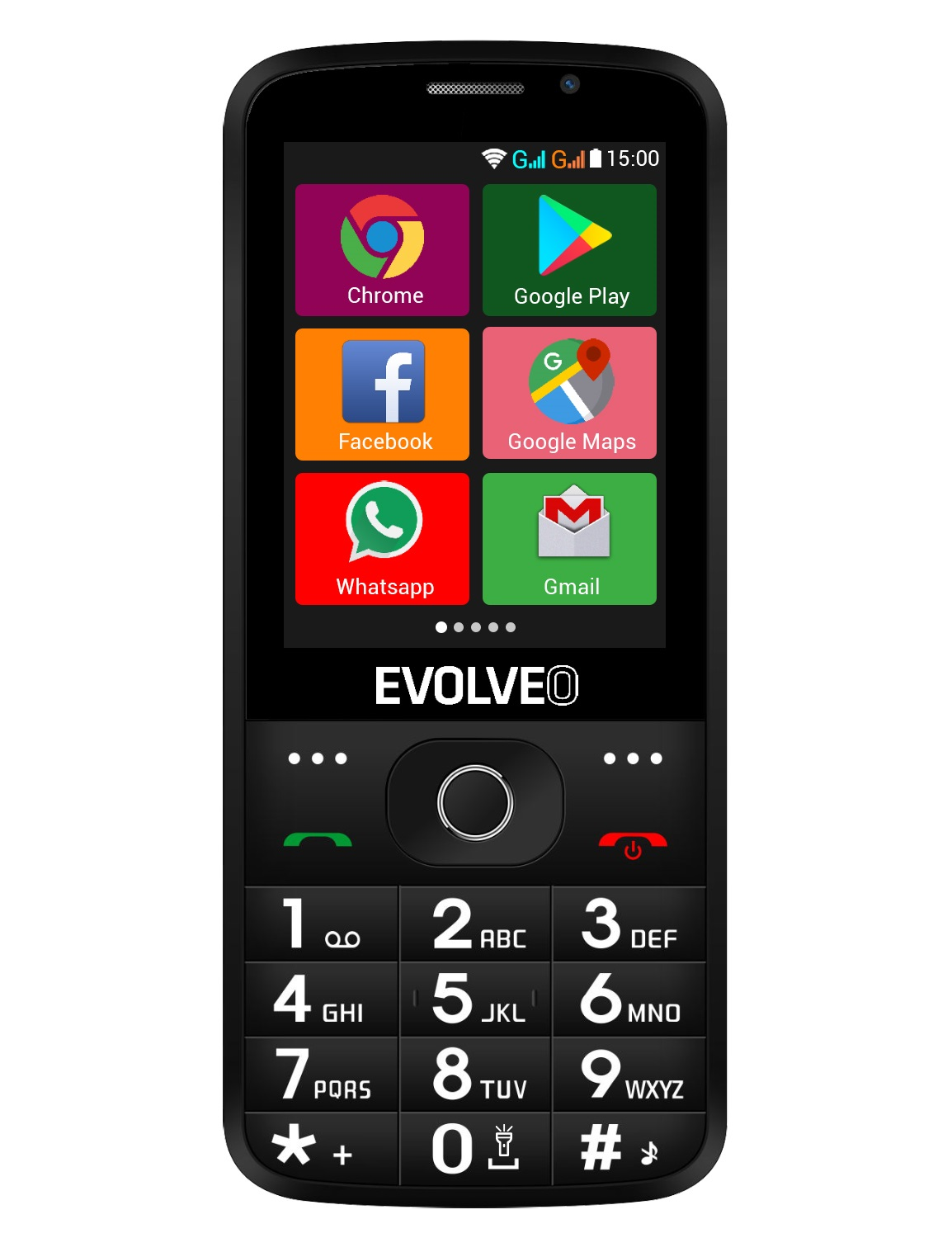 EVOLVEO EasyPhone AD – front b