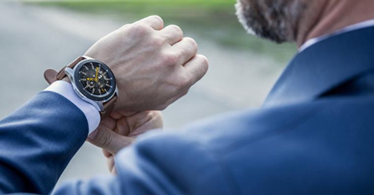 Chytré hodinky Samsung Galaxy Watch – Sleva Mobil Pohotovost